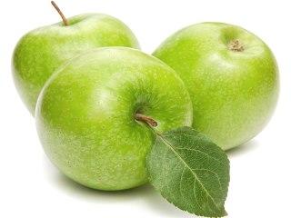 зеленое яблоко картинка